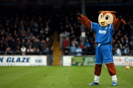 McQuillan are proud sponsors of Oldham Athletic's mascot